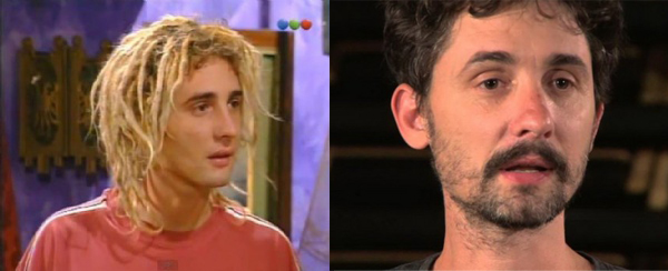 Nahuel Mutti antes y despues