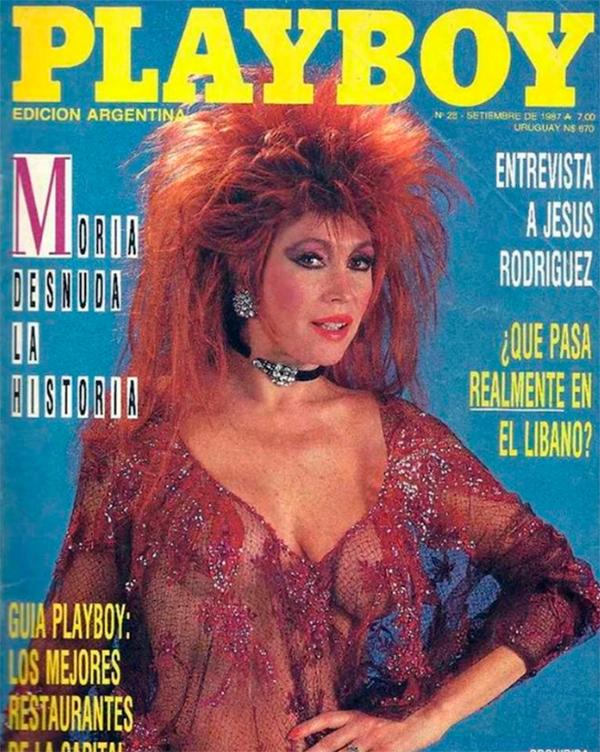 Moria Casán Vuelve A Posar Para Playboy Para Mostrar Su Vigencia
