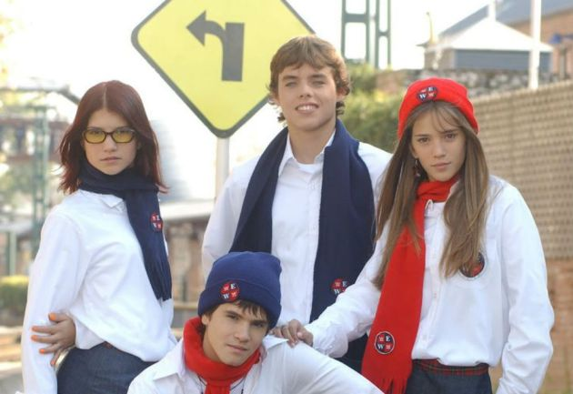 actores de Rebelde Way