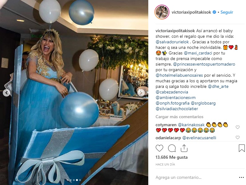 vicky xipolitakis baby shower 3