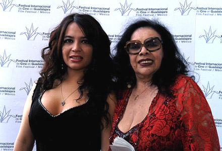 isabel sarli 2008 con su hija
