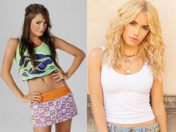 casi angeles actrices antes y despues lali esposito