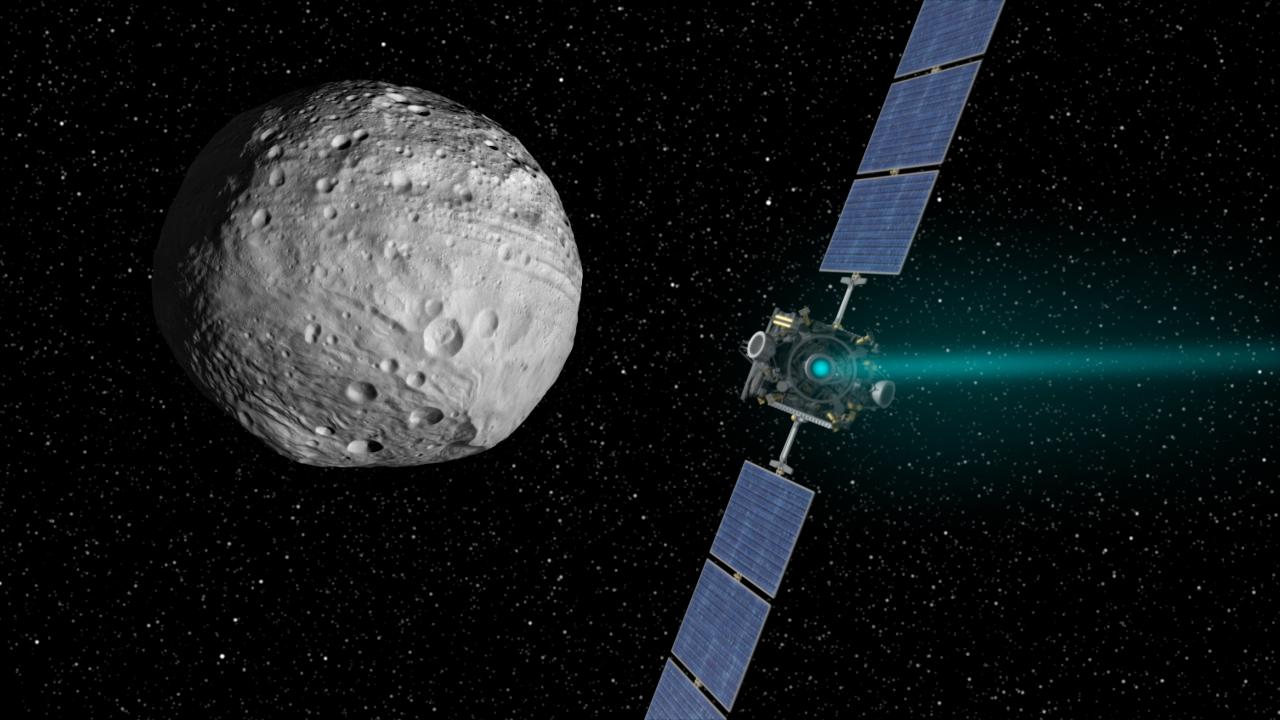 Resultado de imagen de arribo de la sonda espacial dawn al planeta enano ceres