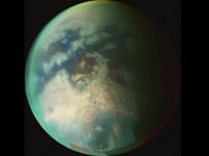 Titán en infrarrojo