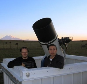Descubridores cometa ISON