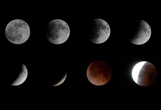 Incleibles Imagenes De Un Eclipse De Luna Youtube | Black Hairstyle