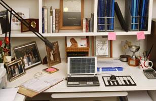 Muebles y decoraci n para una oficina en casa con feng for Feng shui decoracion oficina