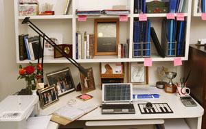 Muebles y decoraci n para una oficina en casa con feng for Como eliminar el desorden con el feng shui