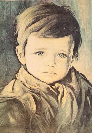 El niño que llora