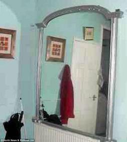 Ins lito ponen a la venta espejo embrujado que siembra el for Espejo que se rompe solo