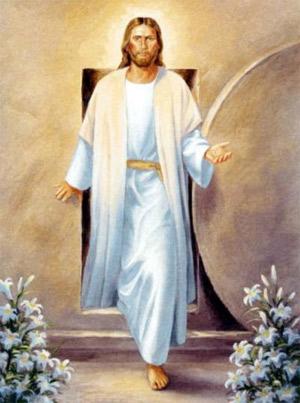 La rueda de queso del santo sepulcro Resurreccion-jesus