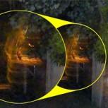 Aseguran que foto muestra a fantasmas acarreando el cuerpo de una bruja