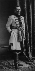 El príncipe Félix Yusupov, uno de los asesinos de Rasputín.