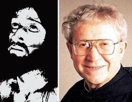 El Padre Ernetti y la supuesta imagen que el cronovisor obtuvo de Jesucristo cuando agonizaba en la cruz.