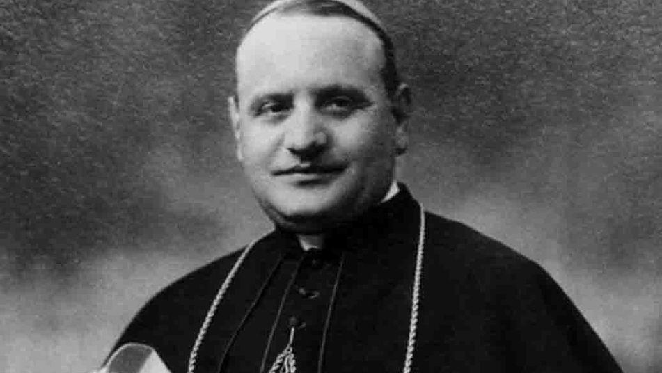 El sacerdote Ángelo Giuseppe Roncalli en sus años mozos, antes de convertirse en el Papa Juan XXIII.