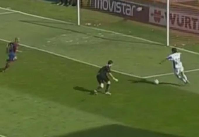 La comentada jugada de Duda en el partido disputado el 1 de mayo de 2005, entre los equipos del Levante y el Málaga.