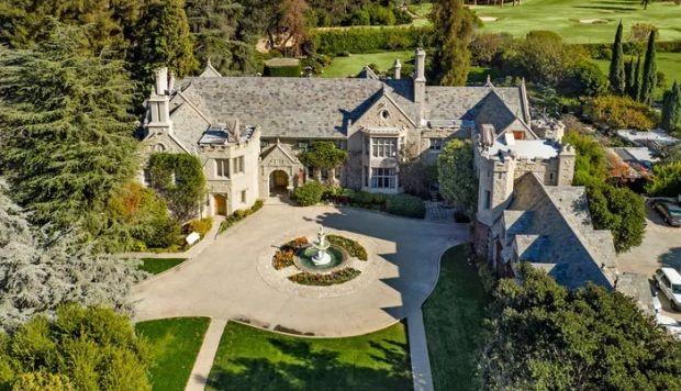 Vista aérea de la mansión Playboy.