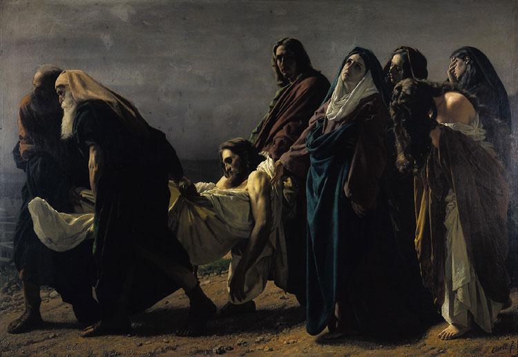 SS Jesús trasladado al sepulcro