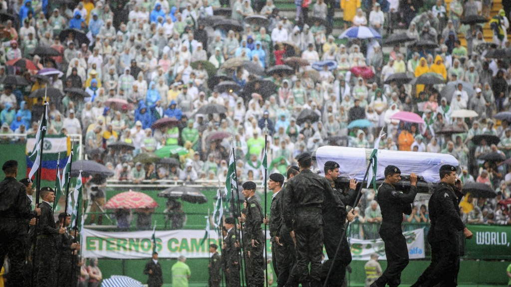 accidente-chapecoense funeral