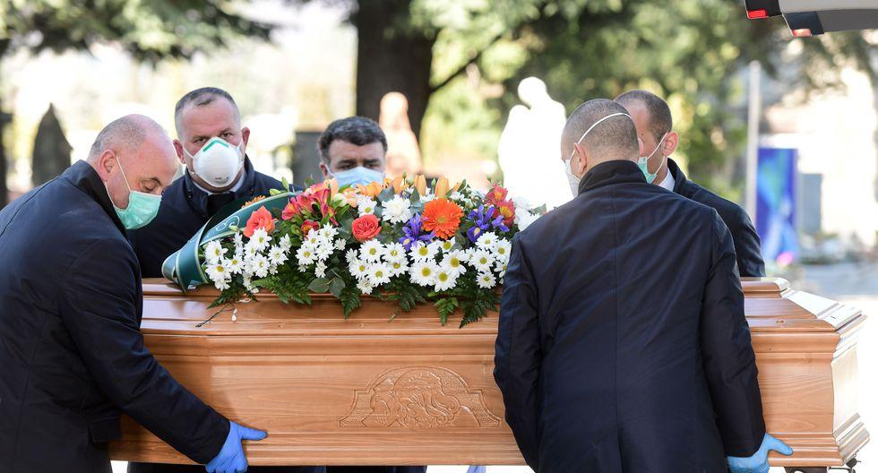Coronavirus coffin