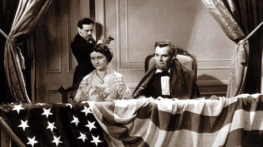 El asesinato del Presidente Abraham Lincoln.