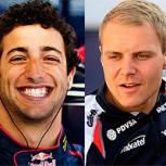 Daniel Ricciardo y Valtteri Bottas: Las revelaciones de la temporada de la F-1