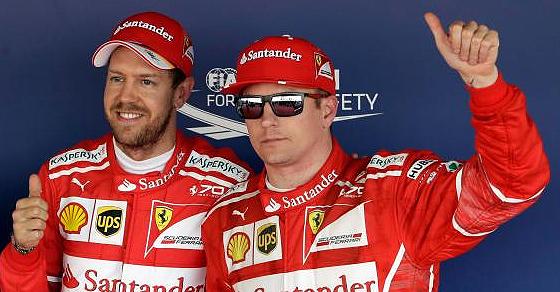 1-2 de Ferrari en Hungría con Vettel firme hacia la corona