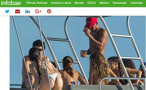 Las desenfrenadas fiestas acuáticas de Lewis Hamilton: Mujeres, alcohol y lujos