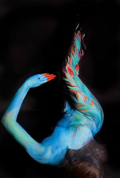 Cuerpos pintados