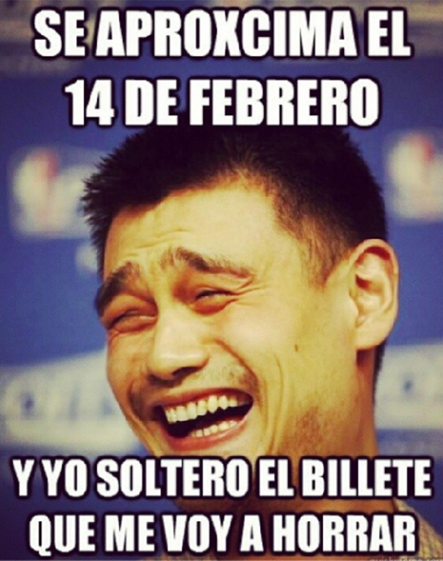 memes del 14 de febrero para solteros