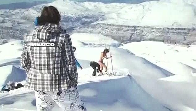 Topless Jackie Chamoun Sochi