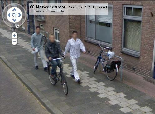 Google Street View fotos