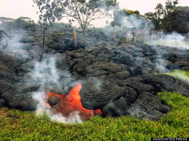 Hawaii Lava Fotos