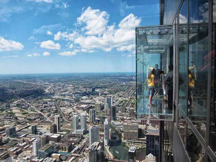 Terrazas en Willis Tower, Chicago.