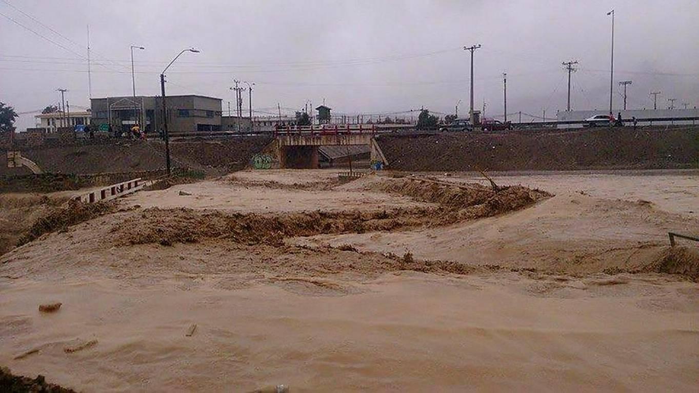 Esto dejo el Maldito aluvion en el norte,Fuerza Norte chile!