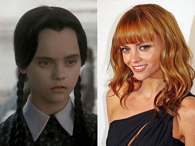 Christina Ricci, de Los Locos Addams.