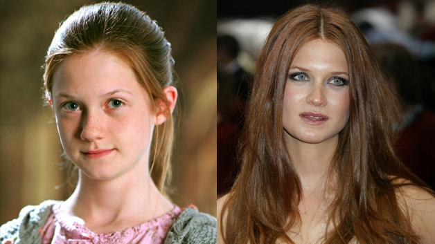 Bonnie Wright, de Harry Potter y otras.