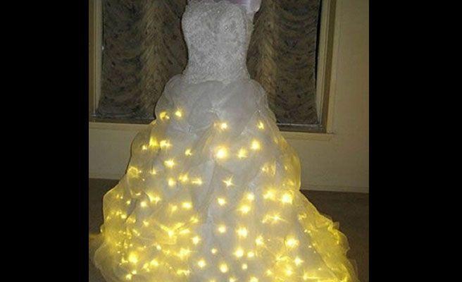 Fotos de los peores vestidos de novia