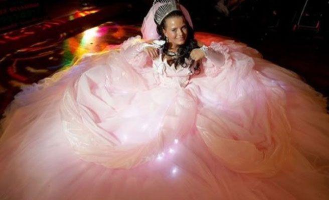Fotos de los peores vestidos de novia que se pueden