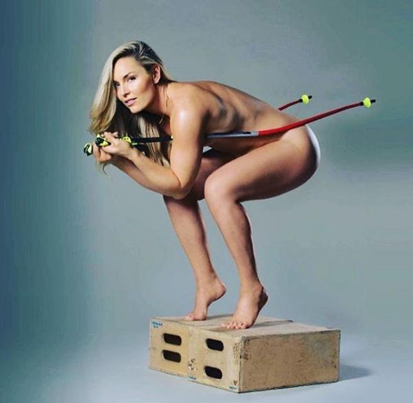 Fotos De La Esquiadora Más Guapa Del Mundo Que Se Desnudó Para