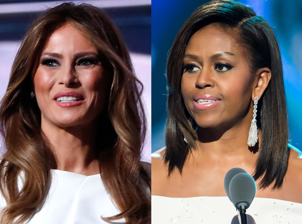 Michelle Obama vs Melania Trump