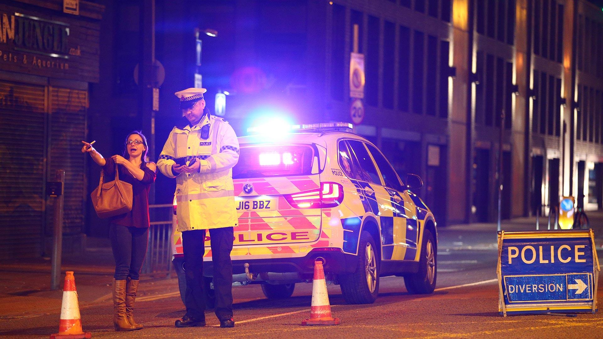 Atentado Manchester fotos