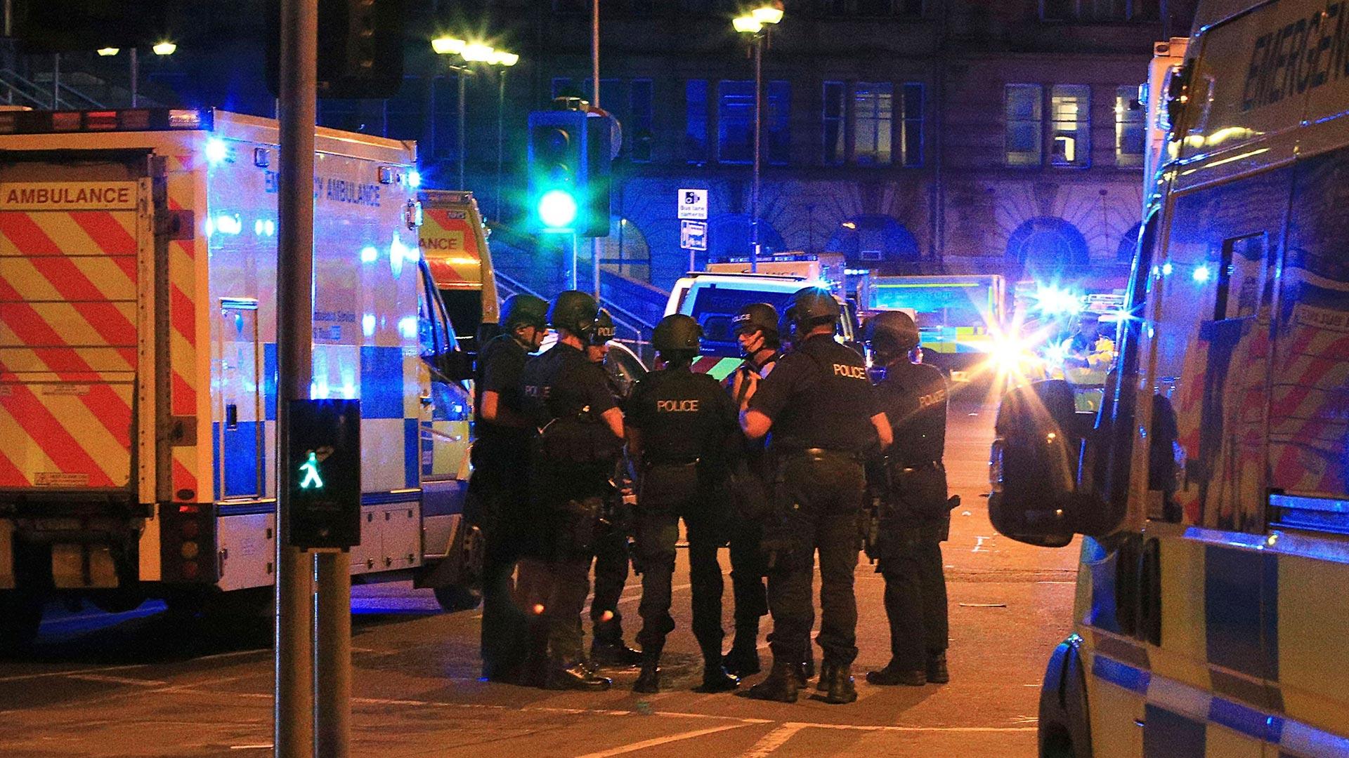 Resultado de imagen de atentado manchester
