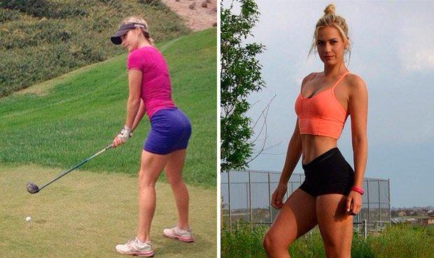 ... código de vestimenta del golf femenino que dejó como resultado el que  las participantes no podrían usar más escotes ni minifaldas en las  competencias. 334e67ce23b3