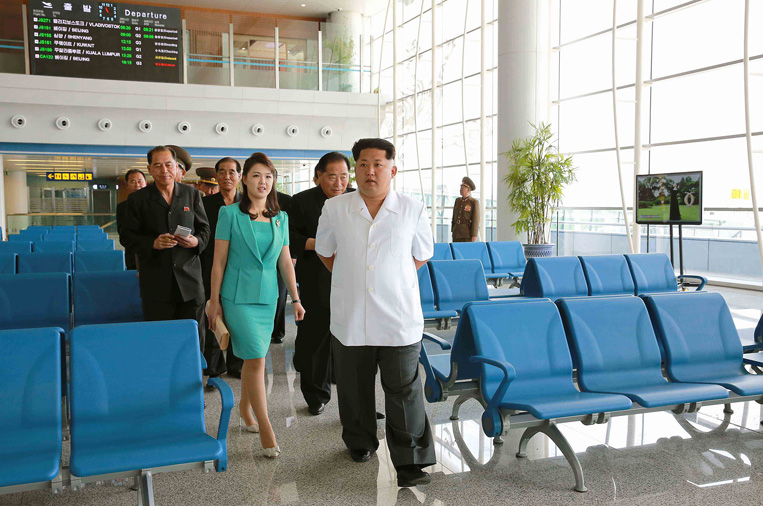 NKOREA-TOURISM-AIRPORT-LIFESTYLE