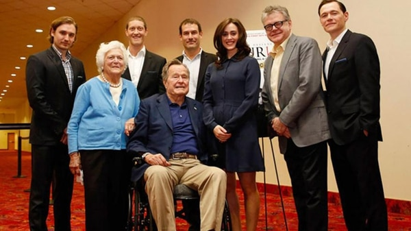 George h. w. Bush heather lind