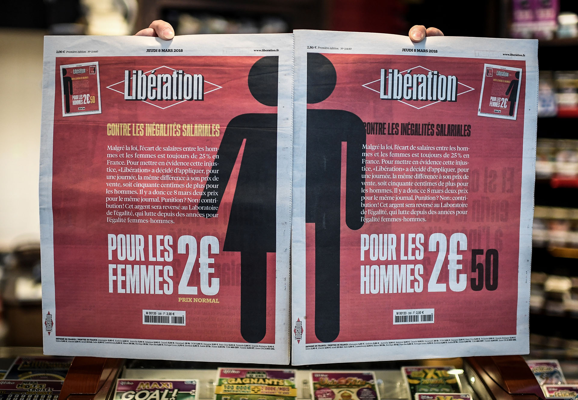 FRANCE-WOMEN-DAY