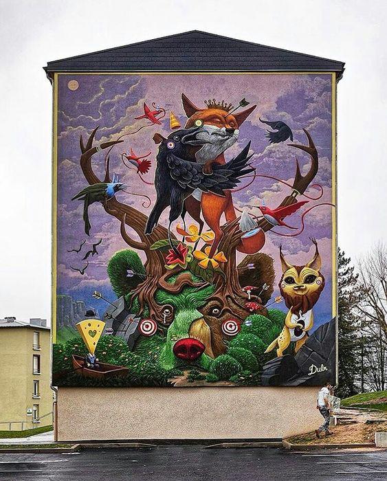 Fotos de los mejores y m s incre bles murales urbanos del for Murales para fotografia