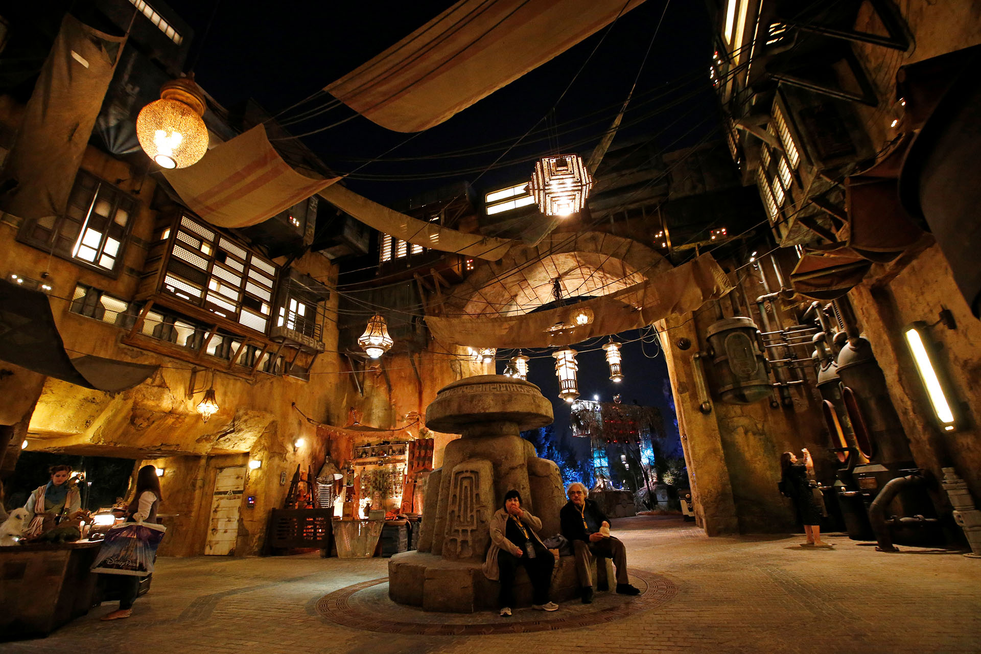 "Guests explore ""Star Wars: Galaxy's Edge"" at Disneyland Park in Anaheim"