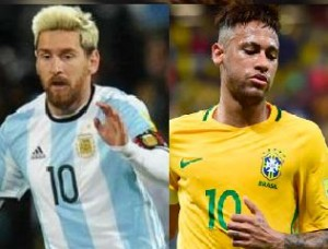 Messi vs. Neymar: duelo de cracks.